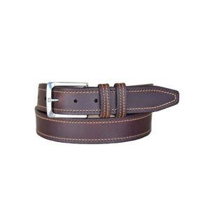 LEJON Brown Wrigley Oil Tanned Harness Leather Belt SZ 34